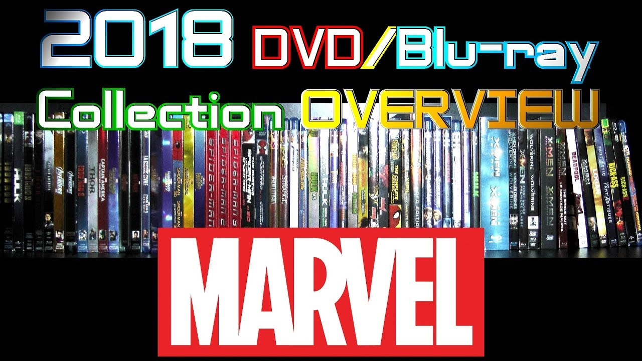 2018 DVD/Blu-ray Collection Overview 24 - Marvel