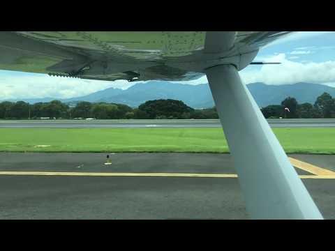 San Josè To Tambor 🇨🇷 Costa Rica Sansa Flight! Over To Ananda Yoga Retreats.