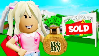 Baby Trillionaire Buys BROOKHAVEN! ( A ShanePlays Roblox Brookhaven RP)
