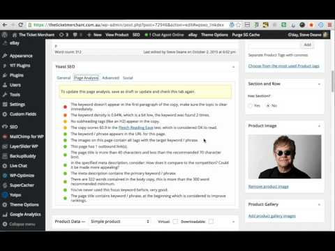 Using Yoast SEO with WooCommerce - Video Tutorial