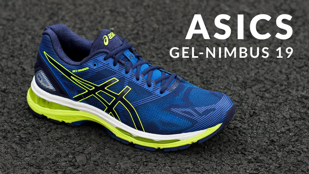 Running Shoe Overview  ASICS GEL-Nimbus 19 - YouTube 5316b3455a