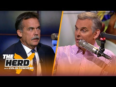 Jeff Fisher Joins Colin To Break Down AFC & NFC Championships, Talks OBJ | NFL | THE HERD