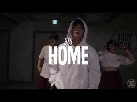J-HO Choreo Class | BTS - HOME | Justjerk Dance Academy