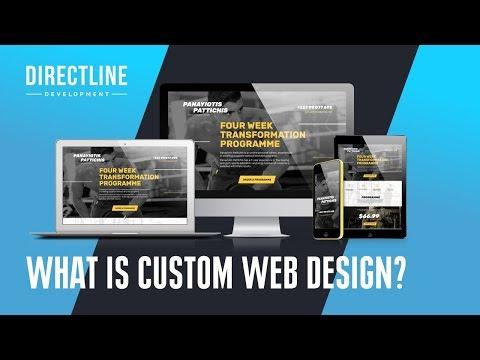 What is Custom Web Design | Custom Design Vs Template Design | Who needs Custom Web Design