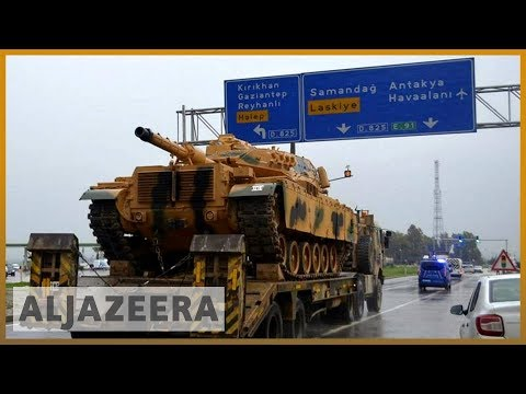 🇹🇷Turkey sends reinforcements to Syrian border | Al Jazeera