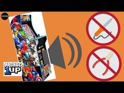 Fox Worx: Arcade1up Marvel Vs Capcom Plug-n-Play Speaker Upgrade from 19kfox