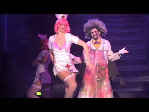 Full New Fiends Show With Naughty Nurses At Howl O Scream 2013 Busch Gardens Tampa Youtube