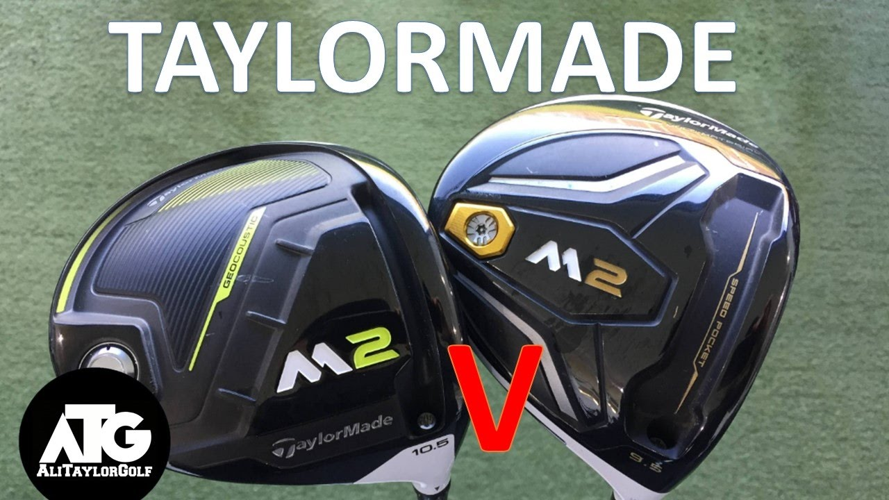 Used M2 Driver >> 2017 Taylormade M2 Driver V 2016 Taylormade M2 Driver