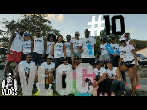 VLOG #10 Caribbean Bike Life, Dash color run drone footage & Dynasty Carnival Band