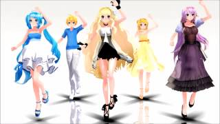 [MMD] Feel the sound
