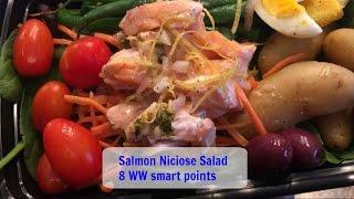 Recipe Share  Salmon Niciose Salad  8 WW Smart Points