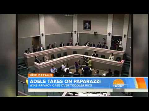 Adele wins privacy case over paparazzi toddler pics