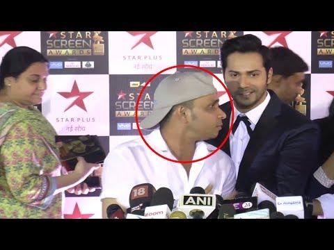 After Salman Khan, Varun Dhawan Trolls Reporter Sumit At Star Screen Awards 2017