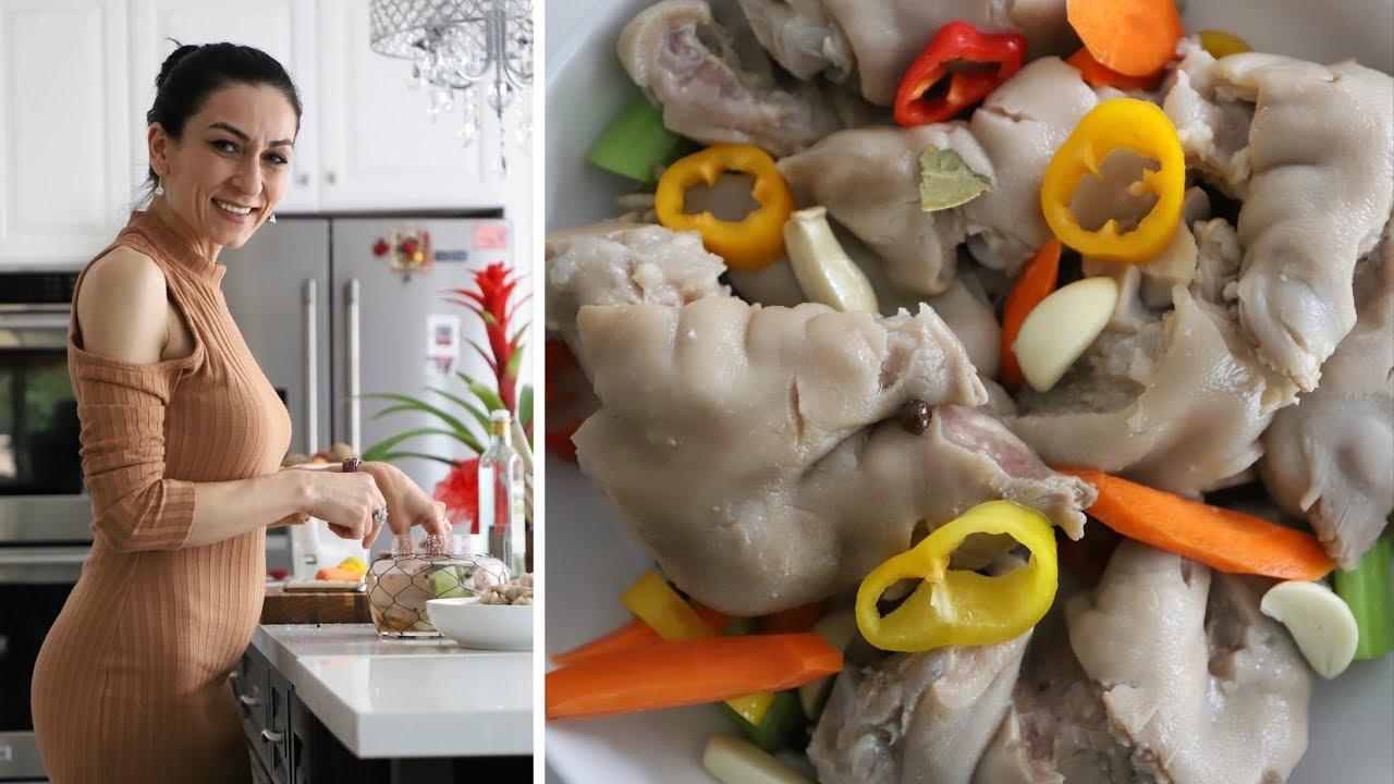 Как Приготовить Можож - Маринованные свиные ножки - Рецепт от Эгине - Heghineh Cooking Show