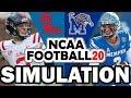 Ole Miss @ Memphis (8-31-2019) Simulation - NCAA Football 20