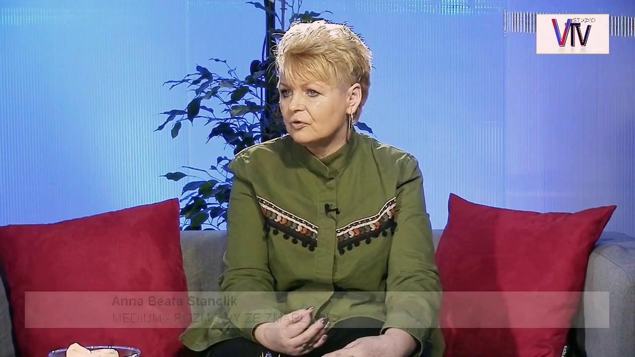 MEDIUM – ROZMOWA ZE _ Z M A R Ł Y M I  – Anna Beata Stanclik – 12.03.2018 r. © VTV