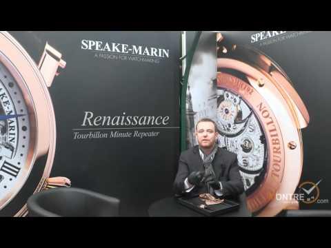 Speake-Marin watches presentation at BaselWorld 2012 (Basel, March 2012)