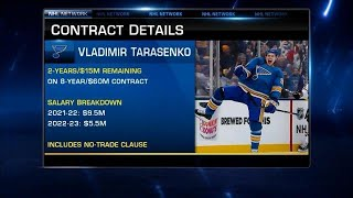 Ongoing situation between Tarasenko and the Blues