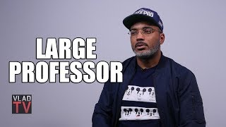 Large Professor Hasn't Produced for Nas Since 'Stillmatic', Dislikes Kanye's 'Nasir' Beats (Part 9)