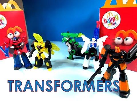 2008 MCDONALDS TRANSFORMERS ANIMATED COMPLETE SET LOT 6 FIGURE TOY¤Optimus Prime