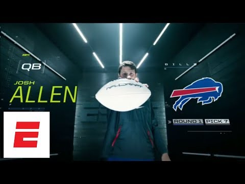 Buffalo Bills trade up to take Wyoming QB Josh Allen w/ No. 7 overall pick in 2018 NFL draft | ESPN