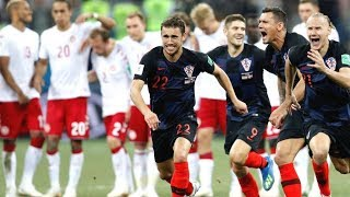 Croatia Vs Denmark 1 1 Penalty (3 4) Croatia Knock out Denmark