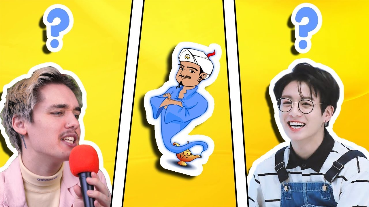 Trying To Get The Akinator To Guess K Pop Idols Youtube