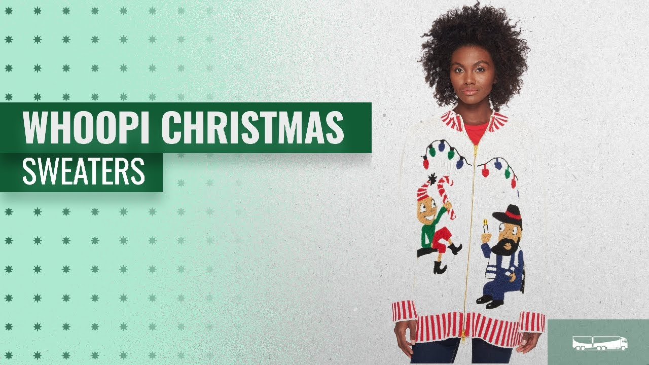 Whoopi Christmas Sweaters 2018 Christmas Hot Trends Youtube