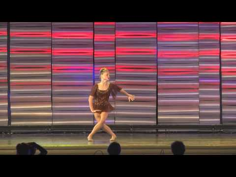 """Not About Angels"" - Morgan's Junior Elite Solo - WCDE Nationals 2015"