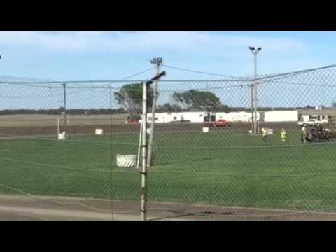 Colby Jensen Pure Stock Heat Race Miller Speedway 2015