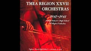 Vanguard Overture - TMEA Region XXVII Middle School Philharmonic Orchestra