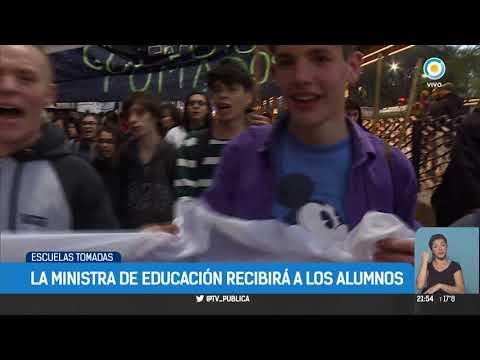 Escuelas tomadas en la Ciudad de Buenos Aires