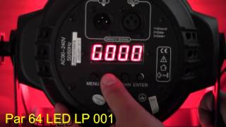 Par 64 Led Lp001 Big dipper RGBW 3W(Par 64 Led Lp001 Big dipper RGBW 3W Tutorial de programación de la par led LP-001 marca Big Dipper, en el cual veremos en detalle sus características y ..., 2014-08-02T23:54:04.000Z)