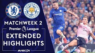 Chelsea v. Leicester City | PREMIER LEAGUE HIGHLIGHTS | 8/18/19 | NBC Sports