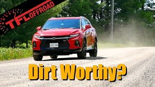 Is the 2019 Chevy Blazer Any Good on the Dirt? We Put its AWD to the Test
