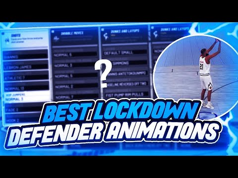NBA 2K19 - BEST ANIMATIONS FOR LOCKDOWN DEFENDERS!