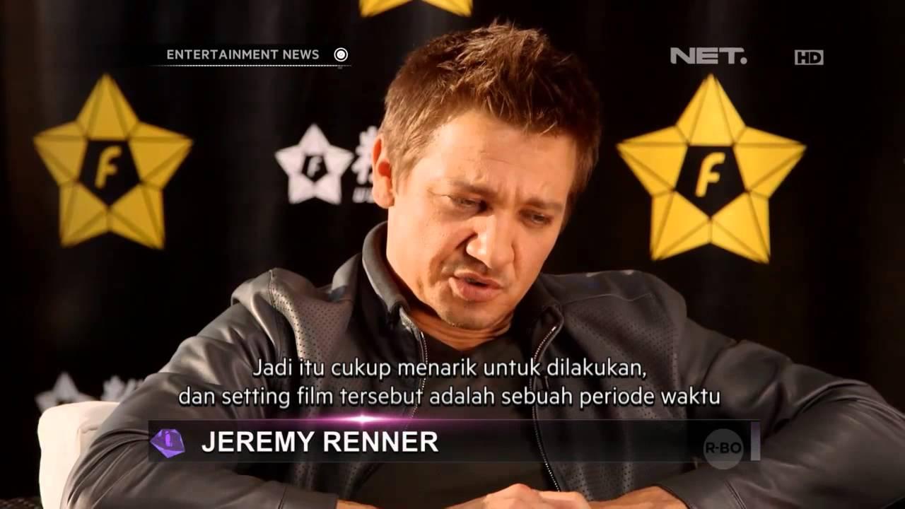 Jeremy Renner tentang American Hustle - YouTube