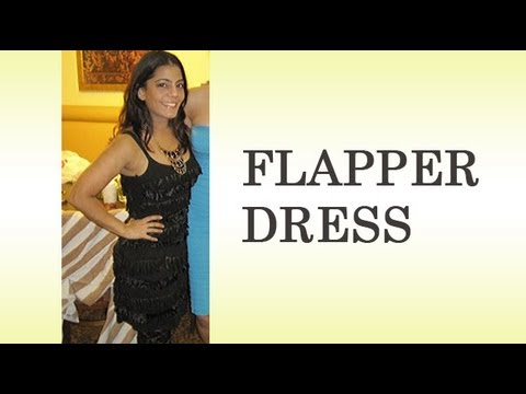 DIY How to Make your Own Flapper Dress Costume - Part 1 ...