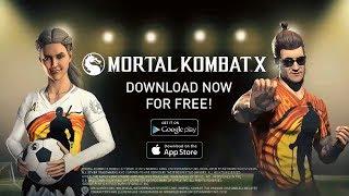 Mortal Kombat X Mobile Update - Kombat Cup Skins