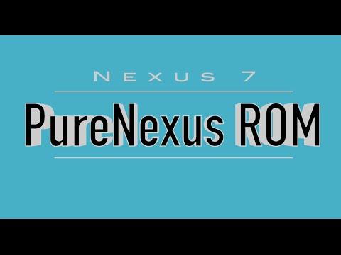 Google Nexus 7 (2012) running PureNexus 6.0.1_r22 Marshmallow