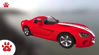 Viper Volkswage Jeep Volta Staff | Super Cars for Kids | #h Colour Song for Kids