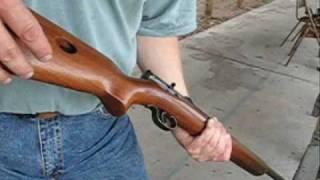 Winchester model 74 .22 Rimfire.
