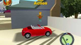 The Simpsons Hit And   Run My Import Car