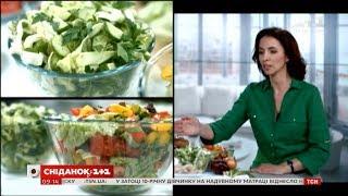 Міфи про калорійність салатів - дієтолог Галина Незговорова