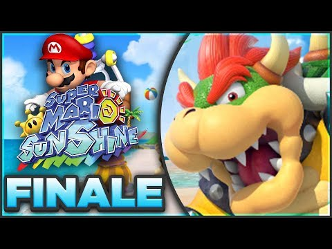 Super Mario Sunshine 100% Walkthrough FINALE | FINAL BOSS BOWSER! [Episode 11 🔴LIVE]