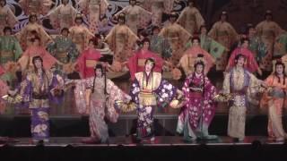 花組公演『雪華抄(せっかしょう)』『金色(こんじき)の砂漠』初日舞台映像(ロング)