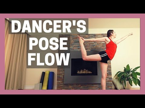 1 Hour Yoga for Balance & Strength Journey to Dancer's Pose