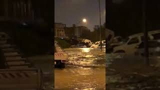 Kuwait Flood Footage(11)