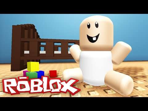 BEING A BABY IN ROBLOX