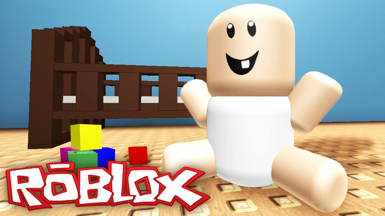 Baby Roblox Being A Baby In Roblox Youtube